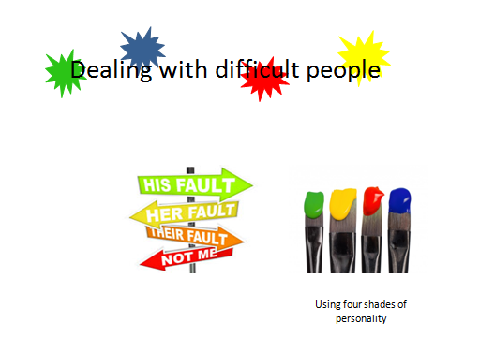 four shades of personality